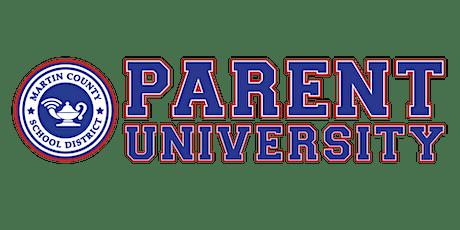 Parent University biglietti