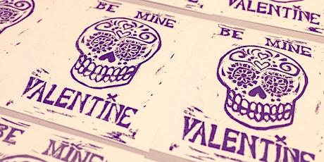 <3 Valentine's 2021 Printmaking Workshop <3 tickets
