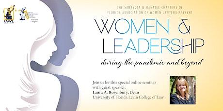 FAWL's Women & Leadership with Dean Laura A. Rosenbury tickets