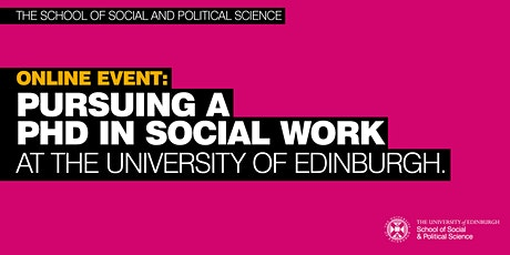 Pursuing a PhD in Social Work - Information session tickets