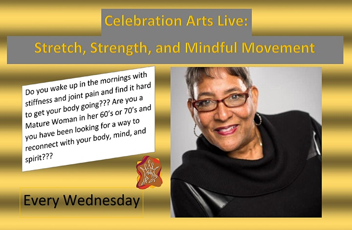 Celebration Arts Live: Stretch, Strength, and Mindful Movement image