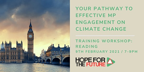 Your pathway to effective MP engagement  on climate change tickets