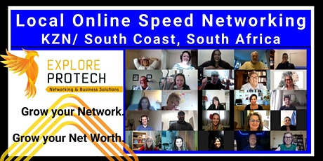Local Online Speed Networking - KZN/ South Coast, SA tickets