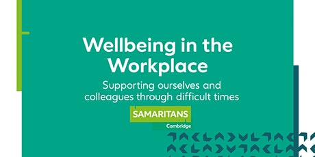 CBC Wellness Campaign:  Supporting Colleagues through Difficult Times tickets