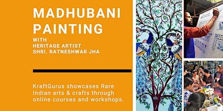 Madhubani Painting tickets