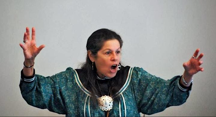 Kay Olan (Ionataie:was) Haudenosaunee Storyteller image