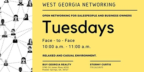 West Georgia Networking tickets