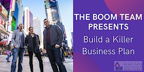 Build a Killer Business Plan tickets
