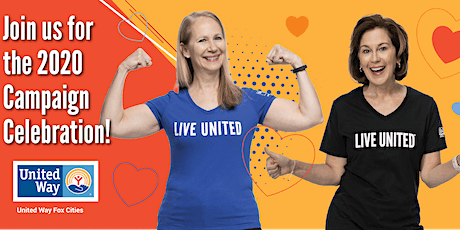 United Way Fox Cities 2020 Campaign Celebration tickets