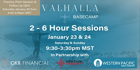 Valhalla Virtual Founder BaseCamp - Jan 2021 tickets