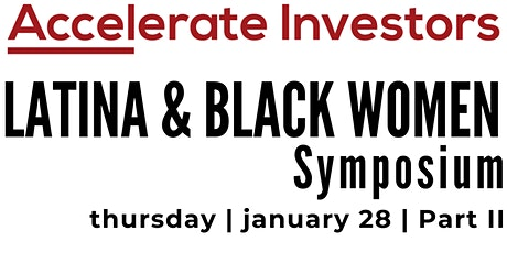 Latina & Black Women Symposium tickets