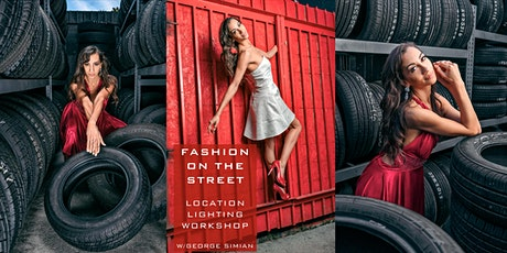 Fashion on the Street Location Lighting Workshop with George Simian tickets