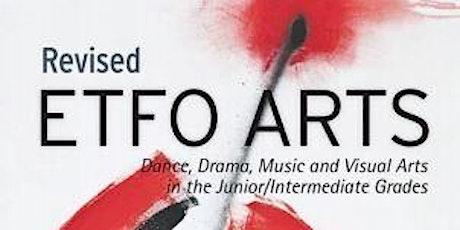 ETFO Jr Arts tickets