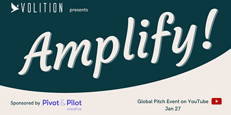 Amplify Live Pitch | January 27th tickets