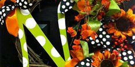 October Wreath Floral Design Class tickets