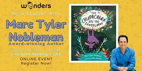 Book Reading w/the author -  Marc Tyler Nobleman (Public Event) tickets