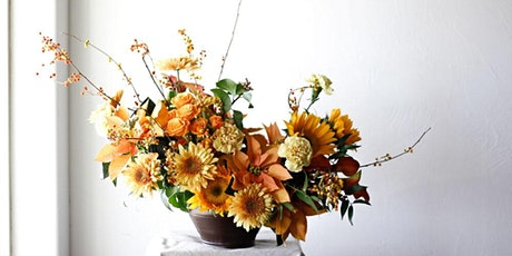 October Yellow Floral Design Class tickets