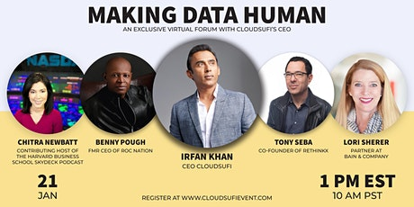 Making Data Human Virtual Forum tickets