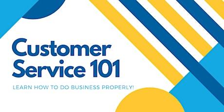 Customer Service 101 tickets