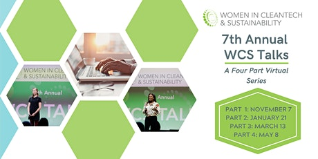 7th Annual Women in Cleantech & Sustainability WCS tickets