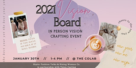 Vision Board 2021 Workshop tickets