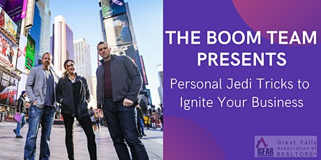 Personal Jedi Tricks to Ignite Your Business tickets