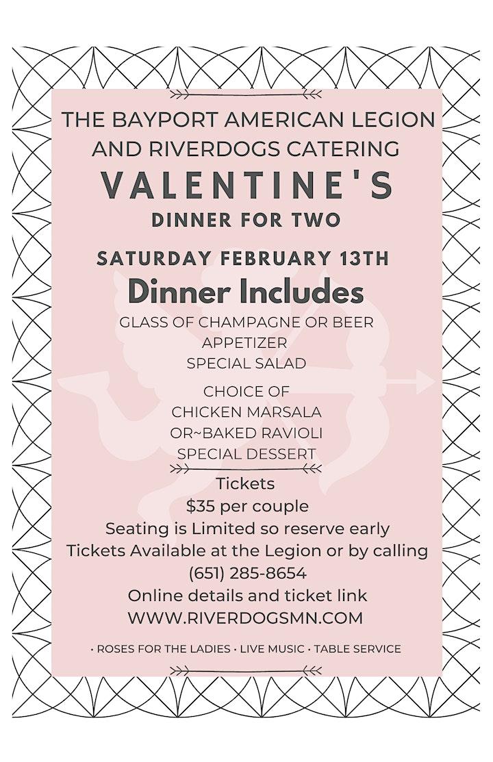 VALENTINES DAY DINNER image
