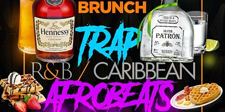 Trap x RnB x Afrobeats, 3hr  Open Bar Brunch and Dinner Party at DL Rooftop tickets