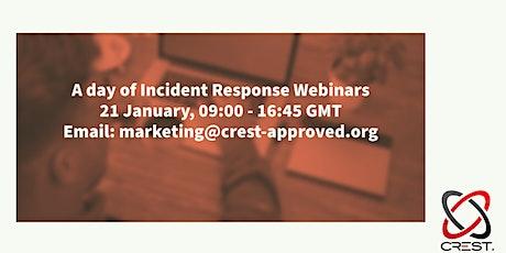 Incident Response Webinars tickets
