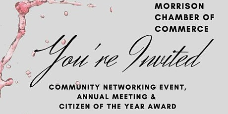 Morrison Chamber 2020 Annual Meeting tickets