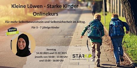 Kleine Löwen - Starke Kinder Onlinekurs Tickets