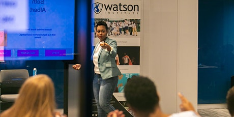 Watson Institute Master Courses tickets