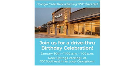 Changes Cedar Park is turning TWO! tickets