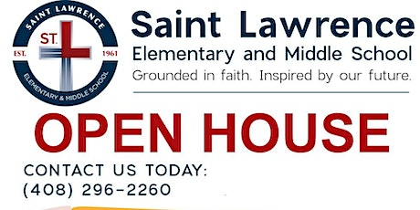VIRTUAL OPEN HOUSE: St. Lawrence Elementary & Middle School tickets