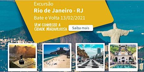 Viagem Copacabana Rio Bate e Volta 13/02/2021 ingressos