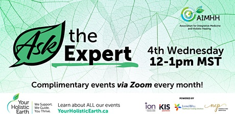 AIMHH Presents - Ask The Expert – Free Event tickets