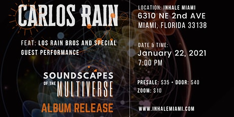 Soundscapes of the Multiverse tickets