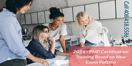 PMP Training in Fresno, CA Based on New Exam Pattern tickets