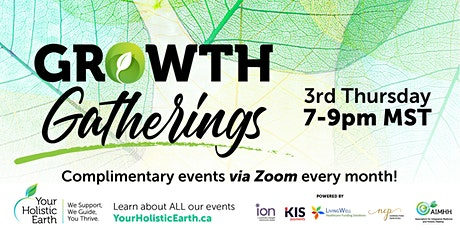 Your Holistic Earth's - EVENING Growth Gathering– Free Event tickets