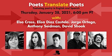 Poets Translate Poets entradas