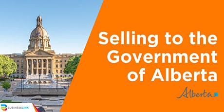 How to Sell to the Government of Alberta tickets