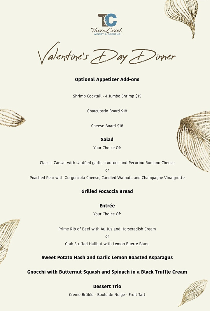 Valentine's Dinner - Featuring Little Steve-O Live image