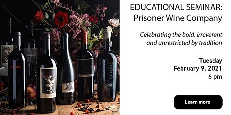 Educational Seminar: Prisoner Wine Company tickets