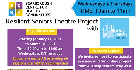 Resilent Seniors Theatre Project tickets