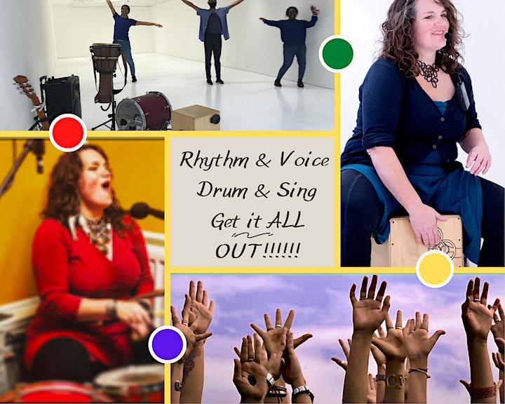 Rhythm & Voice...Drum & Sing - Spring Series image
