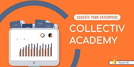 Best Practice Power BI Visualization Tips - Collectiv Academy tickets