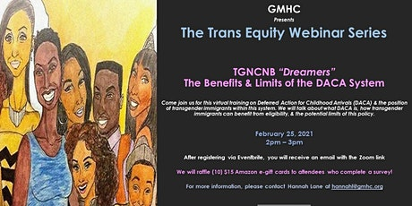"The Trans Equity Webinar Series: TGNCNB ""Dreamers"" tickets"