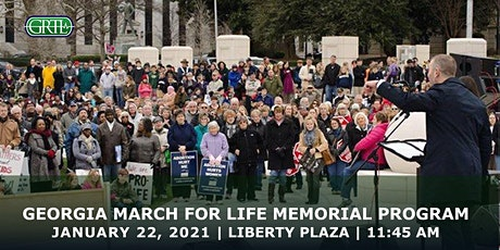 2021 Georgia March For Life Memorial Program, Liberty Plaza, Atlanta tickets