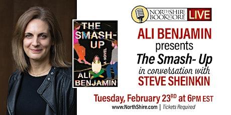"Northshire Live: Ali Benjamin ""The Smash-Up"" tickets"