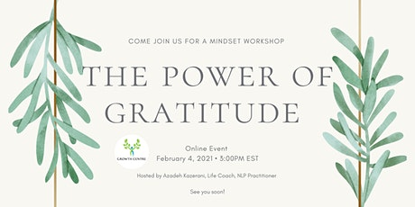 The Power of Gratitude tickets